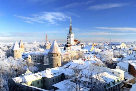 الشتاء في إستونيا