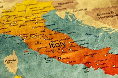 المسافة بين مدن إيطاليا