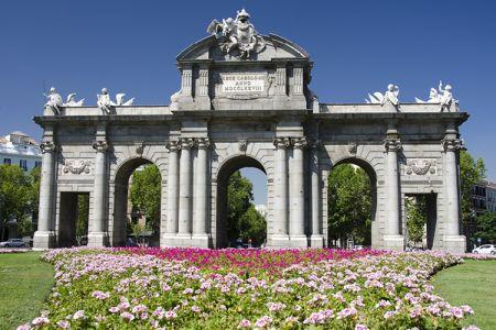بوابة ألكالا Puerta de Alcala - مدريد