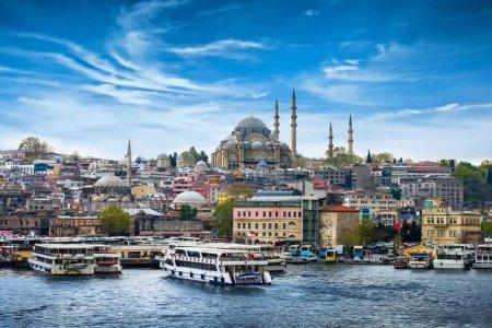 إطلالة على مدينة اسطنبول