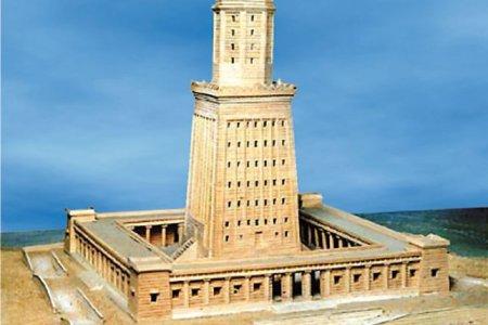 مجسم منارة الإسكندرية - مصر