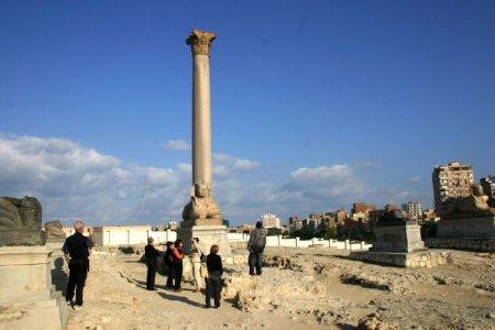 عمود السواري في الإسكندرية - مصر