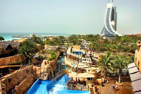 الحديقة المائية - وايلد وادي - دبي