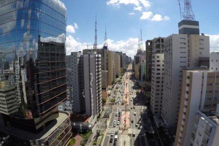 نهج باوليستا في مدينة ساو باولو البرازيل