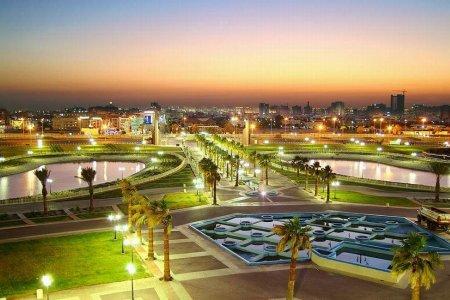 مدينة الملك فهد الساحلية في الخبر
