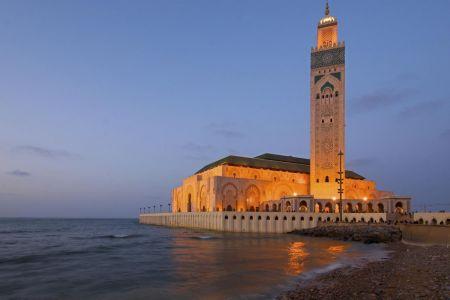 جامع المخزن  في الدار البيضاء - المغرب