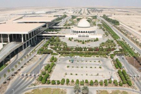 مطار الملك فهد الدولي في مدينة الدمام