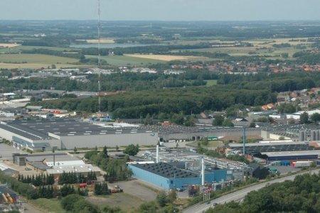 مدينة هيرنينغ في الدنمارك