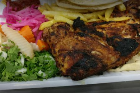 مطعم الصاج الذهبي في الرياض