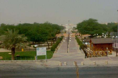 منتزه طريق النهضة في الرياض