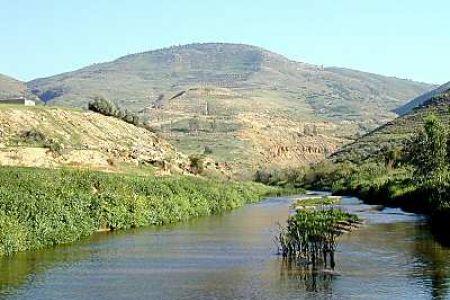 نهر الزّرقاء في الأردن