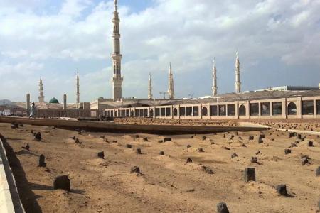 مقبرة البقيع في المدينة المنورة