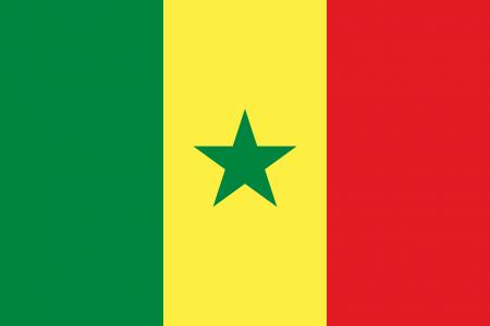علم السنغال