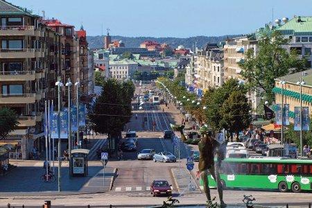 شوارع مدينة غوتنبرغ