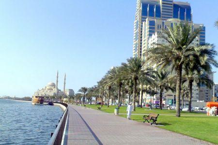 كورنيش البحيرة في الشارقة - الإمارات