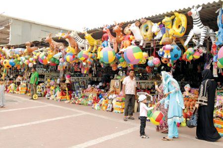 سوق الجمعة في الفجيرة - الإمارات