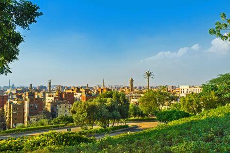 حديقة الأزهر في القاهرة