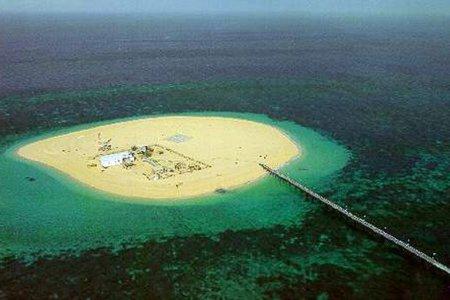 جزيرة كبر الكويتية
