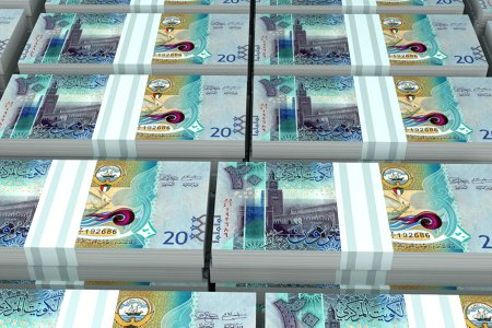 دينار كويتي العملة الرسمية للكويت