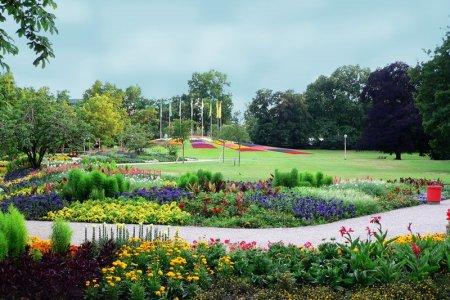 حديقة لوسين في مدينة مانهايم