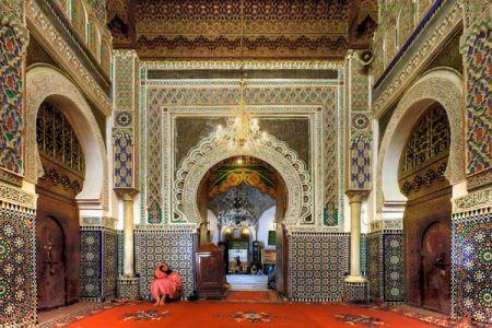 زاوية مولاي إدريس في فاس بالمغرب