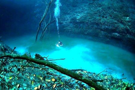 نهر سينوتي انجيليتا المكسيك