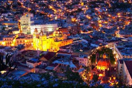 صورة علوية لمدينة غواناخواتو