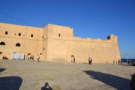 البرج العثماني في المهدية - تونس