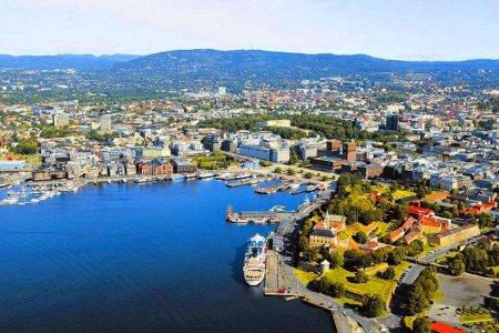 مدينة أوسلو في النرويج