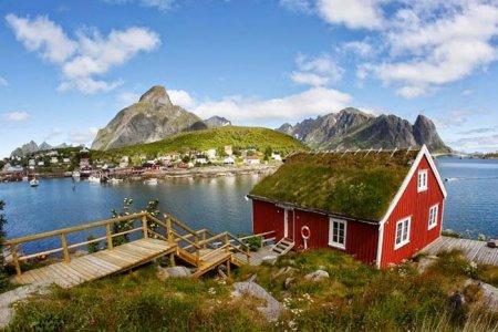 قرية رين في النرويج