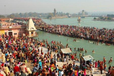 نهر الغانج في الهند