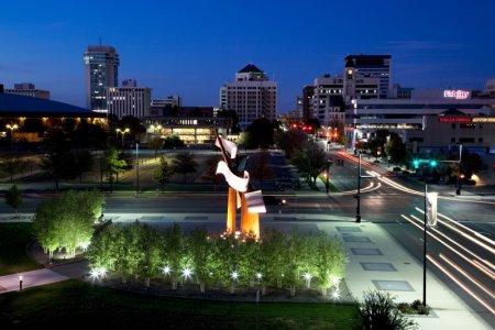 مدينة ويتشيتا في ولاية كانساس الأمريكية