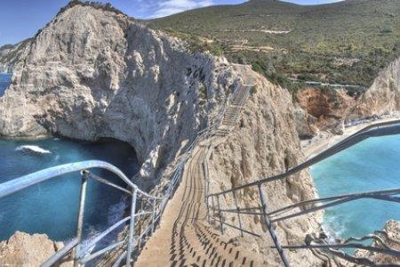 جزيرة ليفكادا في اليونان