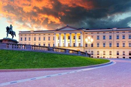 القصر الملكي في النرويج