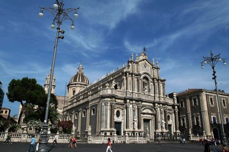 كاتدرائية كاتانيا إيطاليا