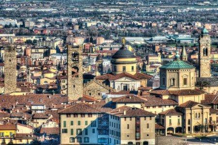مدينة بيرغامو الايطالية