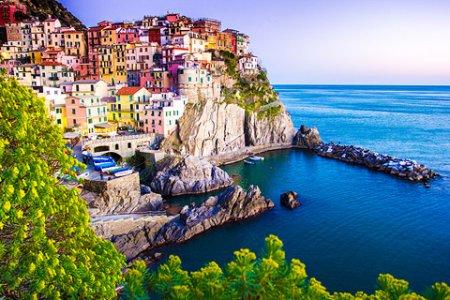 قرية مانارولا في إيطاليا