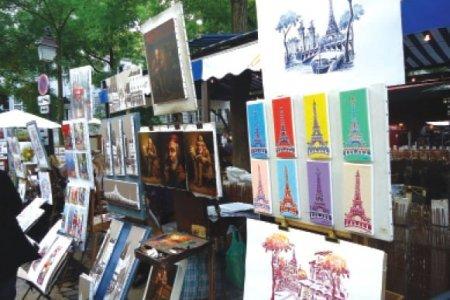 حي مونمارتر في باريس