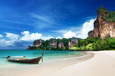 شاطىء رايلي في بانكوك - تايلاند