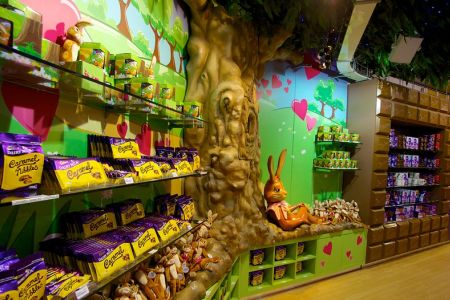 مصنع الشوكولاته في برمنجهام