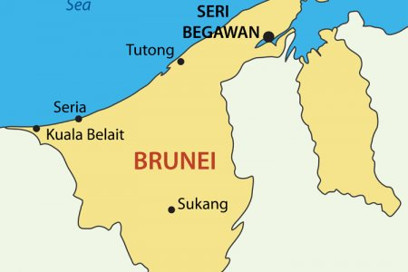 المدن الرئيسية في سلطنة بروناي دار السلام