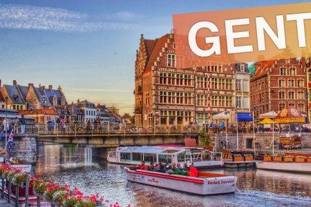 مدينة غنت في بلجيكا