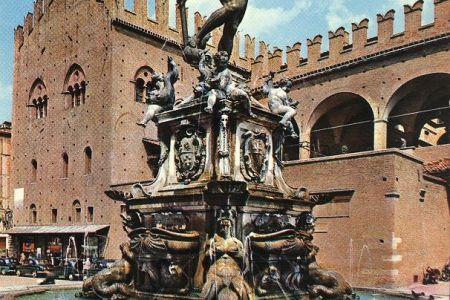 نافورة نبتون في بولونيا - إيطاليا