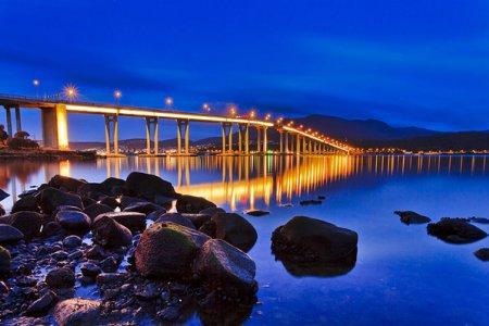 جسر تاسمان اهم المعالم السياحية في هوبارت