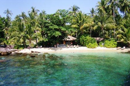 جمال الطبيعة في جزيرة كو كوت