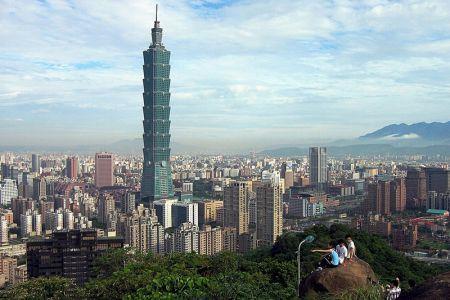 ناطحة سحاب تايبيه 101 في تايوان