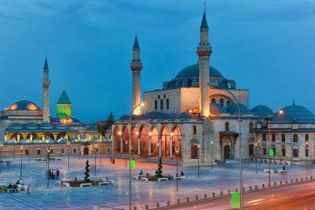 مدينة قونية تركيا