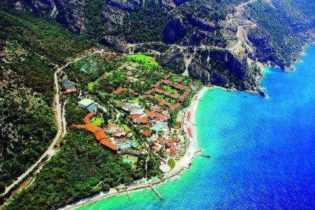 وادي الفراشات في مدينة فتحية بتركيا