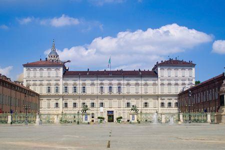 القصر الملكي في تورينو