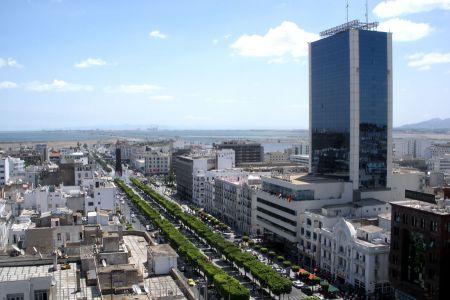 شارع الحبيب بورقيبة في تونس